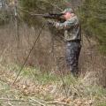 Skládací střelecká dvojnožka - velká