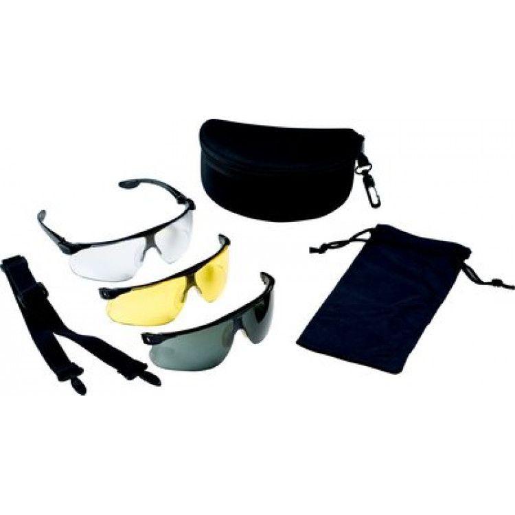 3M Peltor Maxim Ballistic Set brýlí - čiré, žluté, šedé