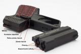Detonics Gladiator .500 HD D3 Professional - perkusní derringer