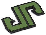 JP PVC nášivka - zelená