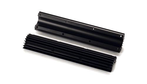 Krátky chladič hlavně JP - černý, .650