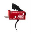 Spoušť TriggerTech AR-10 Diamond - zaoblená PRO, černá