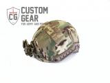 Custom Gear Fast helmet cover - vegetation holders