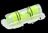 Libela do montáže Spuhr - 7 mm, zelená