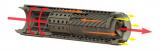OSS tlumič HELIX 556 s rychloupínáním