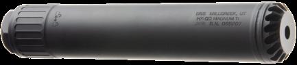OSS tlumič HELIX MAGNUM TI pro větší kalibry (až .338) s rychloupínáním - titanový