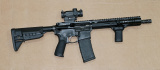 Bundle BCM CQB 11 MCMR, Magpul grip, Streamlight flashlight, Vortex Spitfire red dot, 4 Magpul mags Bravo Company
