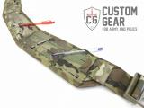 Custom Gear opasek Shooter Belt 3 s vnitřním opaskem a Cobra sponou - velikost L