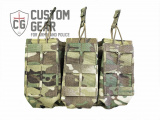 Custom Gear otevřená sumka na zásobníky - AR-15, triple