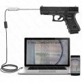 "Borescope - USB kamera (endoskop) Teslong pro kontrolu hlavně pistole od kalibru .20"""