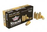 Sterling 9 mm Luger JHP 124 gr.