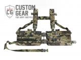 Nosný systém Custom Gear Chest Rig Spero - zapínání TQS (Tube Quick System)