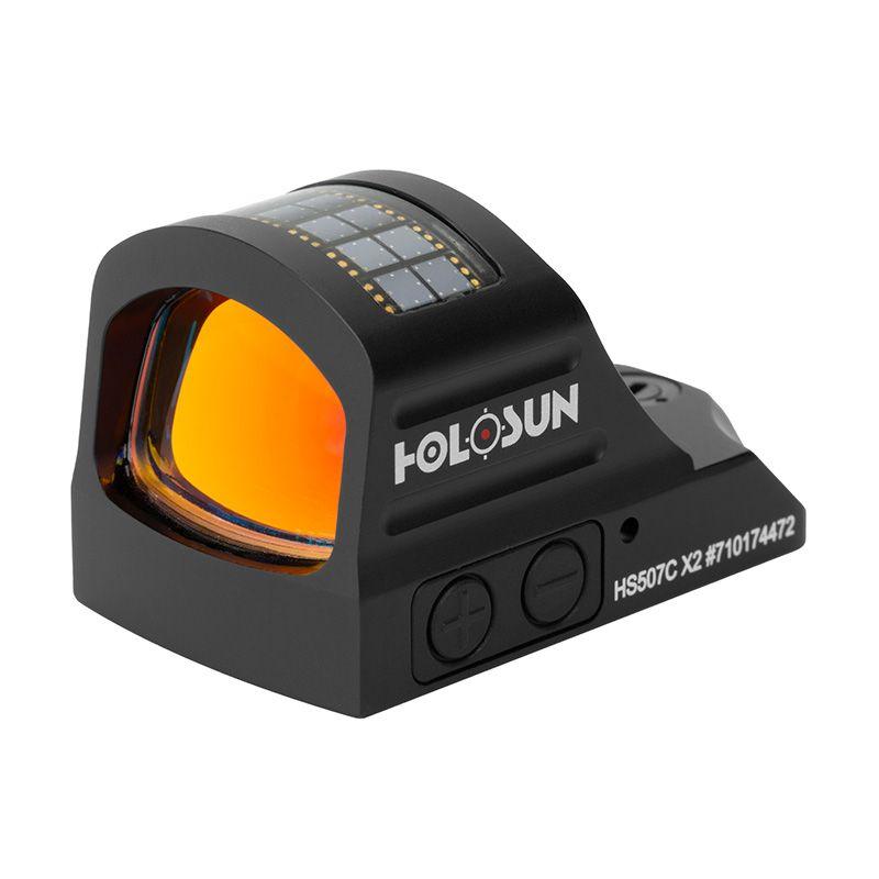 Otevřený micro kolimátor se solárním panelem Holosun HS507C X2