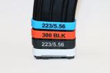 Rozlišovák na zásobníky - červený, .300 AAC Blackout (5 kusů)