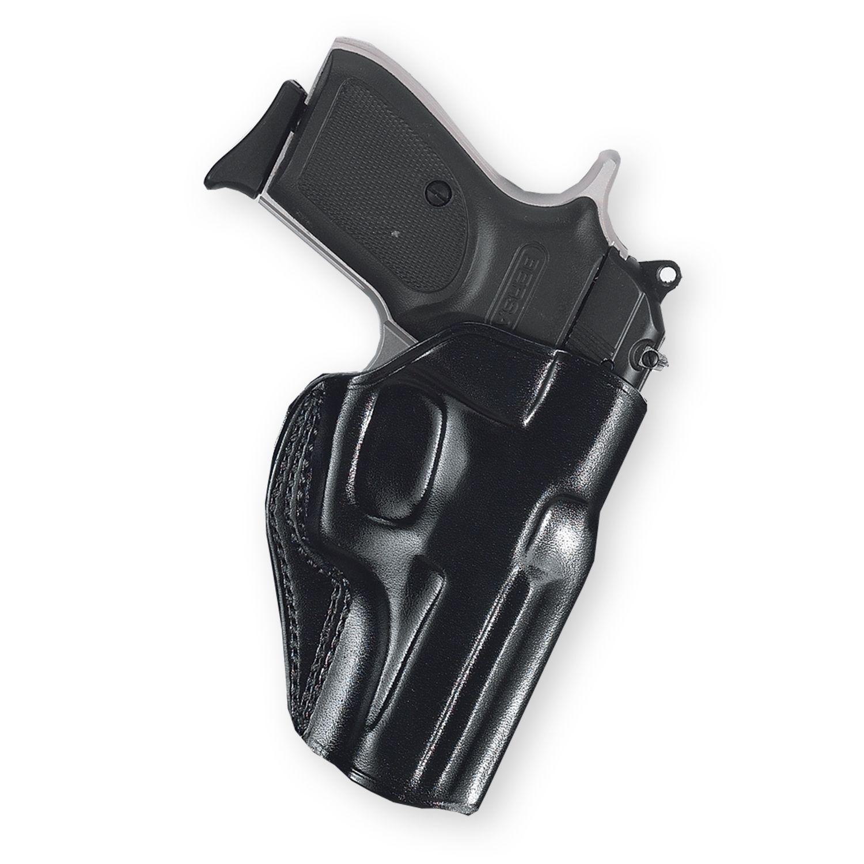 Kožené pouzdro Galco na opasek pro pistole Kahr MK40 - černé