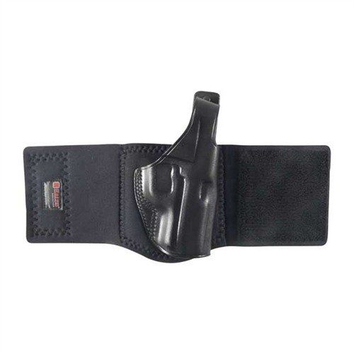 Kožené pouzdro na kotník pro pistole Kahr K9 - černé