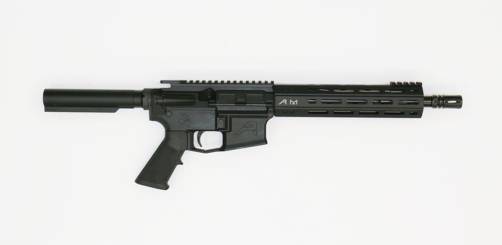 """Samonabíjecí puška Aero Precisioin M4E1 - .223 Rem, 10,5"""" hlaveň, M-LOK, bez pažby a nat. páky Aero Precision"""