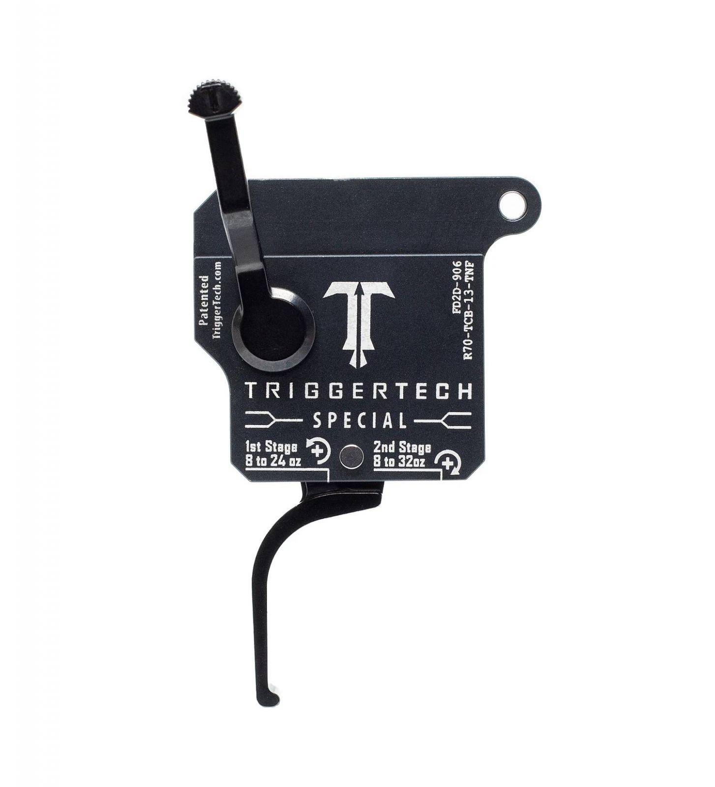 Spoušť Triggertech 2-stage Special pro Remington klony - rovná, černá