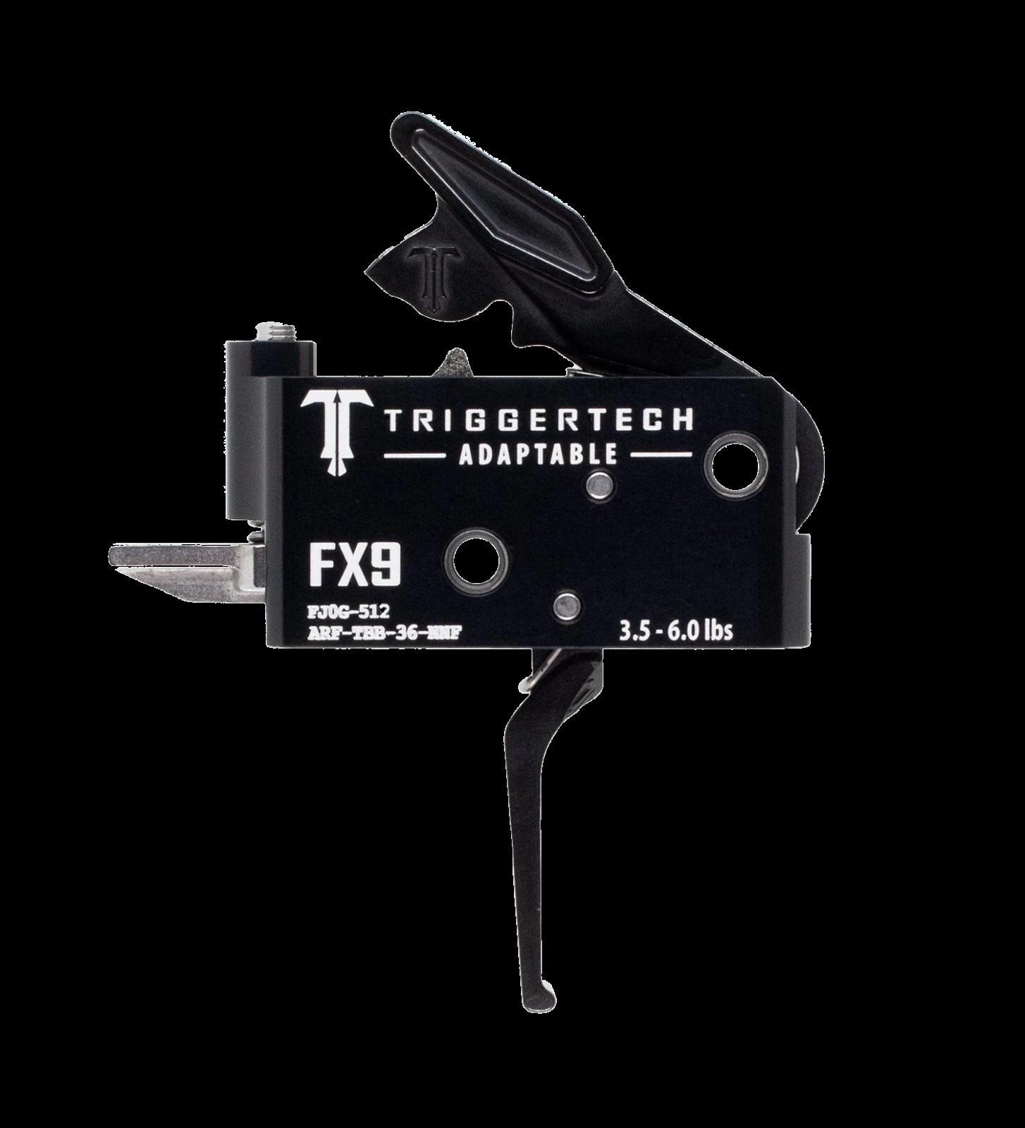 Spoušť TriggerTech FX9 Adaptable - rovná, černá