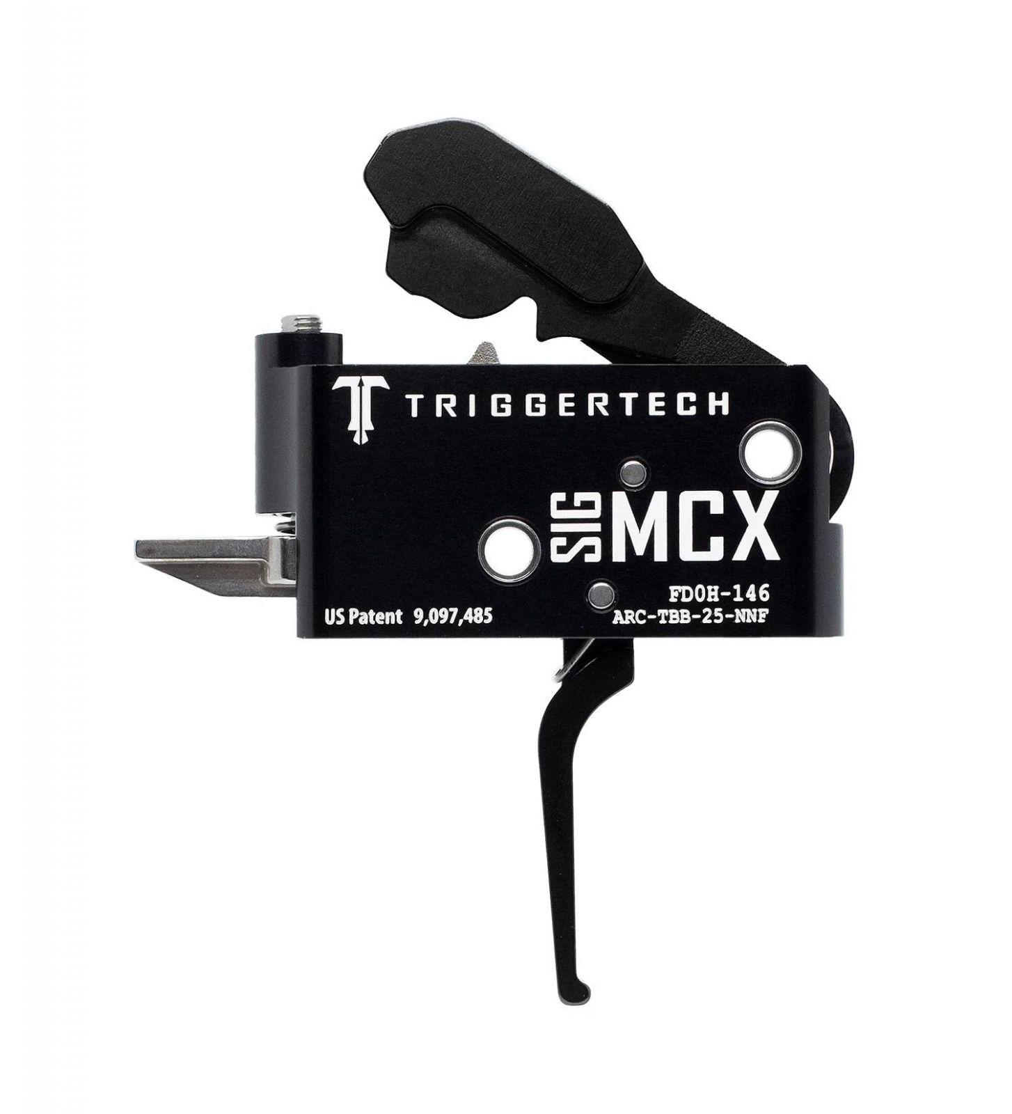 Spoušť TriggerTech SIG MCX Adaptable - rovná, černá