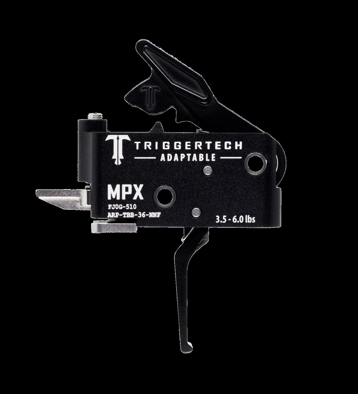 Spoušť TriggerTech SIG MPX Adaptable - rovná, černá