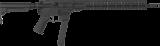 Samonabíjecí puška CMMG Resolute 200 Rifle MkGs - 9 x 19, černá