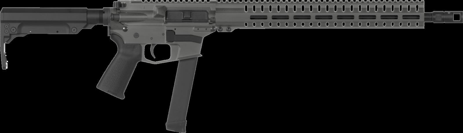 Samonabíjecí puška CMMG Resolute 200 Rifle MkGs - 9 x 19, šedá