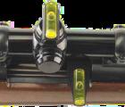 Vodovážná sada pro montáž puškohledu
