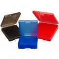 Krabička na náboje (ráže 38 SP /357 MAG) 100 - šedá