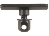 Adaptér bipodů Harris pro duté polymerové nebo dřevěné pažby - prohnutá podložka