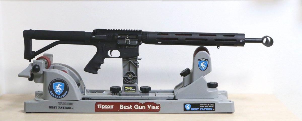 JP Enterprise model PSC-11; kalibr 223 Rem; stavba na míru JP Rifles