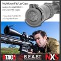 Nightforce krytka 43mm NXS Flip-up - krytka objektivu puškohledu Nightforce Optics