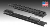 Jednodílná lišta pro Remington 700 LA - 20MOA