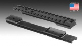 Jednodílná lišta pro Remington 700 LA - 40MOA