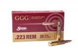 GGG náboj .223 REM - Sierra MatchKing 69grn HPBT