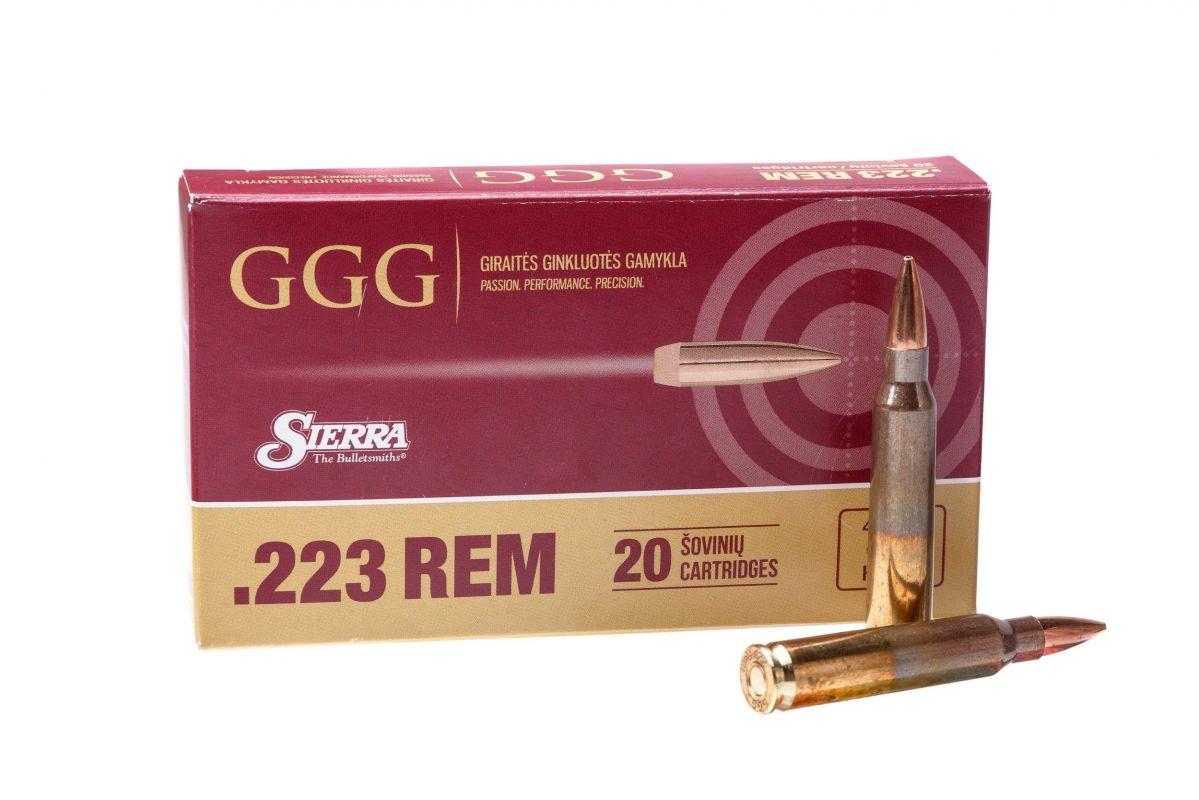 GGG 223REM 69grn HPBT Sierra MatchKing