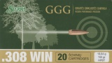 GGG náboj .308 WIN - HPBT 155grn Sierra MatchKing