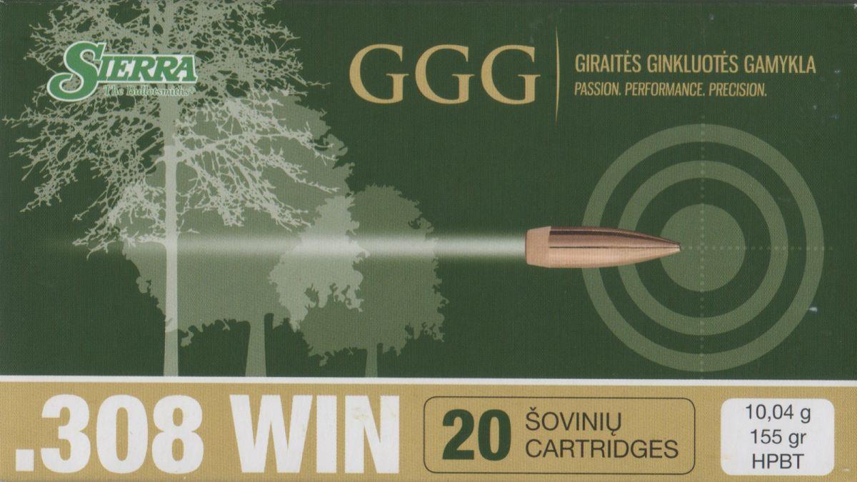 GGG 308WIN 155grn Sierra MatchKing