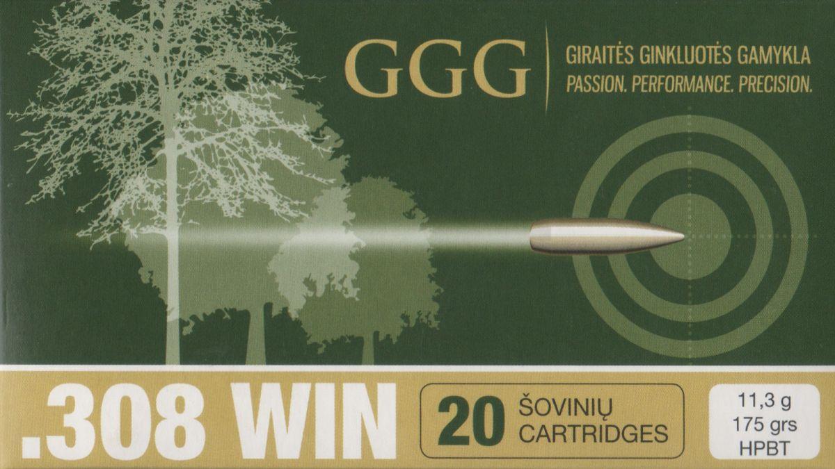 GGG 308WIN 175grn Sierra MatchKing