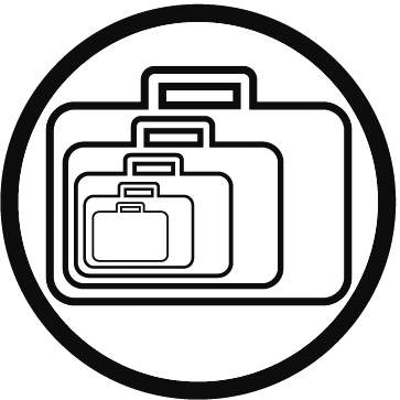 Kufry jsou nabízeny v mnoha různých velikostech a objemech abyste si mohli vybrat Vám nejlépe vyhovující