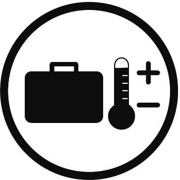Korpus kufru si drží mechanické vlastnosti naprosto shodné od -33 do +90 stupňů Celsia